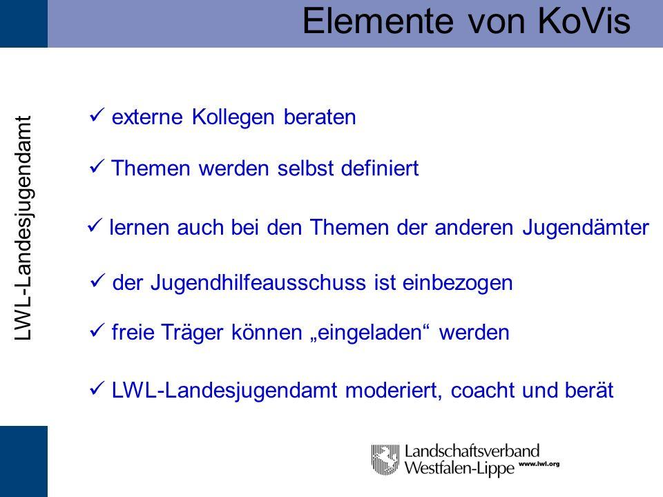 Elemente von KoVis  externe Kollegen beraten