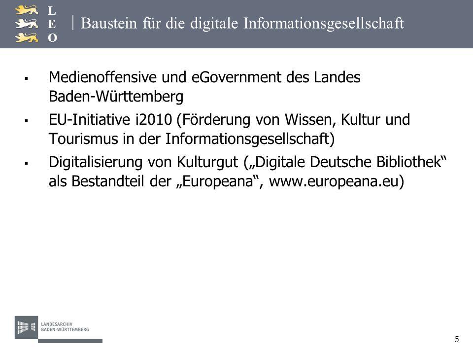 Baustein für die digitale Informationsgesellschaft