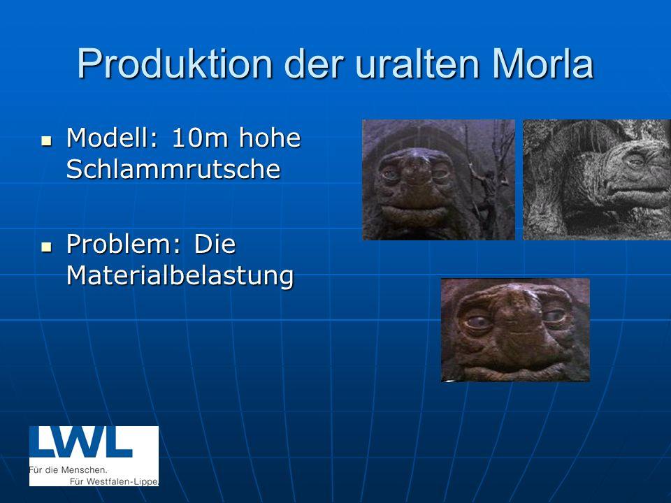 Produktion der uralten Morla