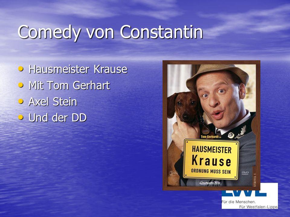 Comedy von Constantin Hausmeister Krause Mit Tom Gerhart Axel Stein