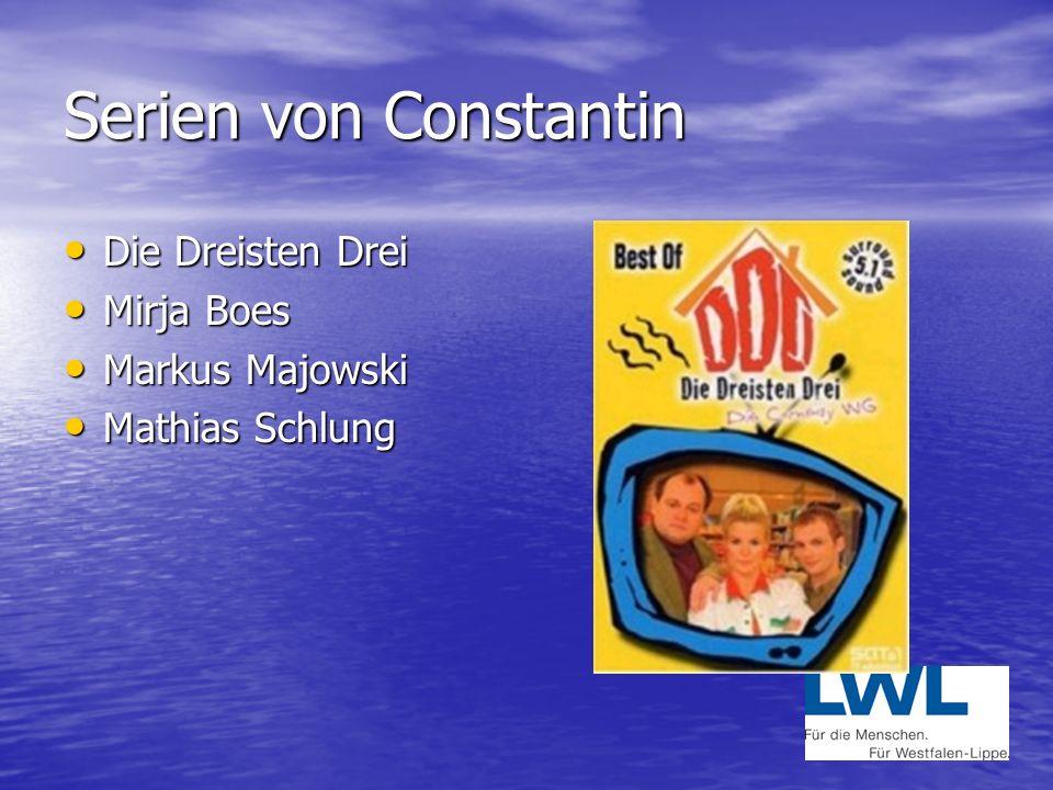 Serien von Constantin Die Dreisten Drei Mirja Boes Markus Majowski