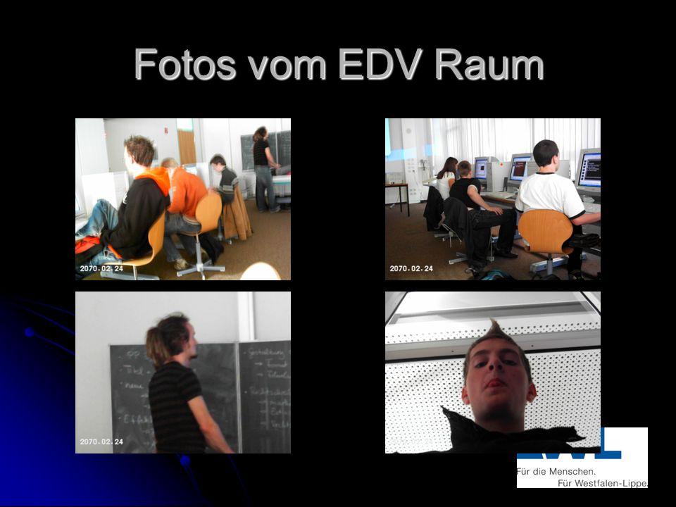 Fotos vom EDV Raum
