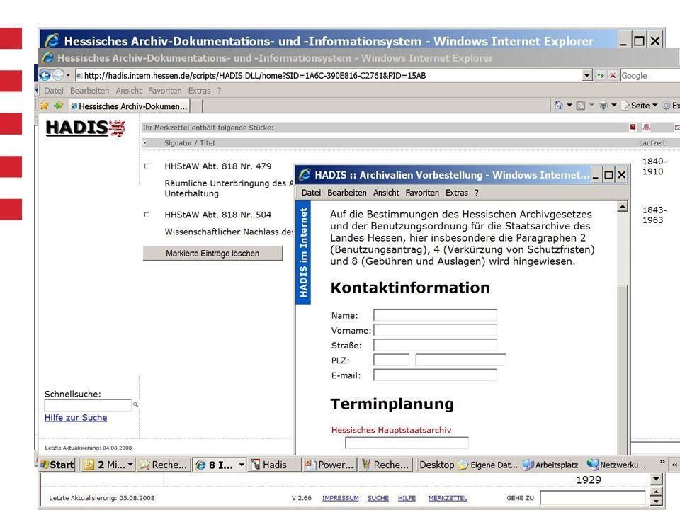 Vernetzung: Recherche im Internet und Intranet