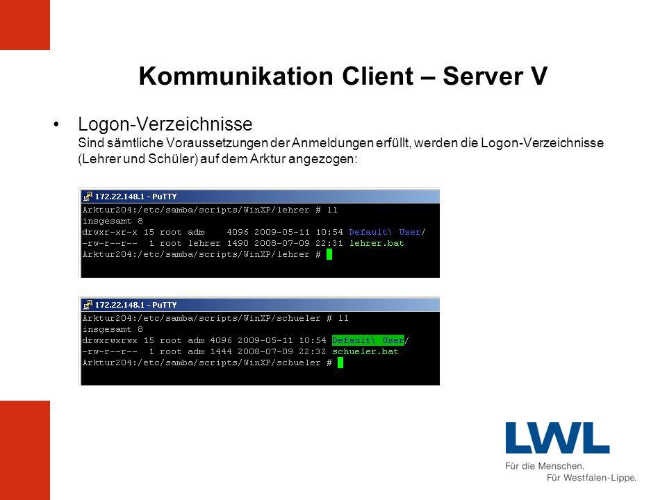 Kommunikation Client – Server V