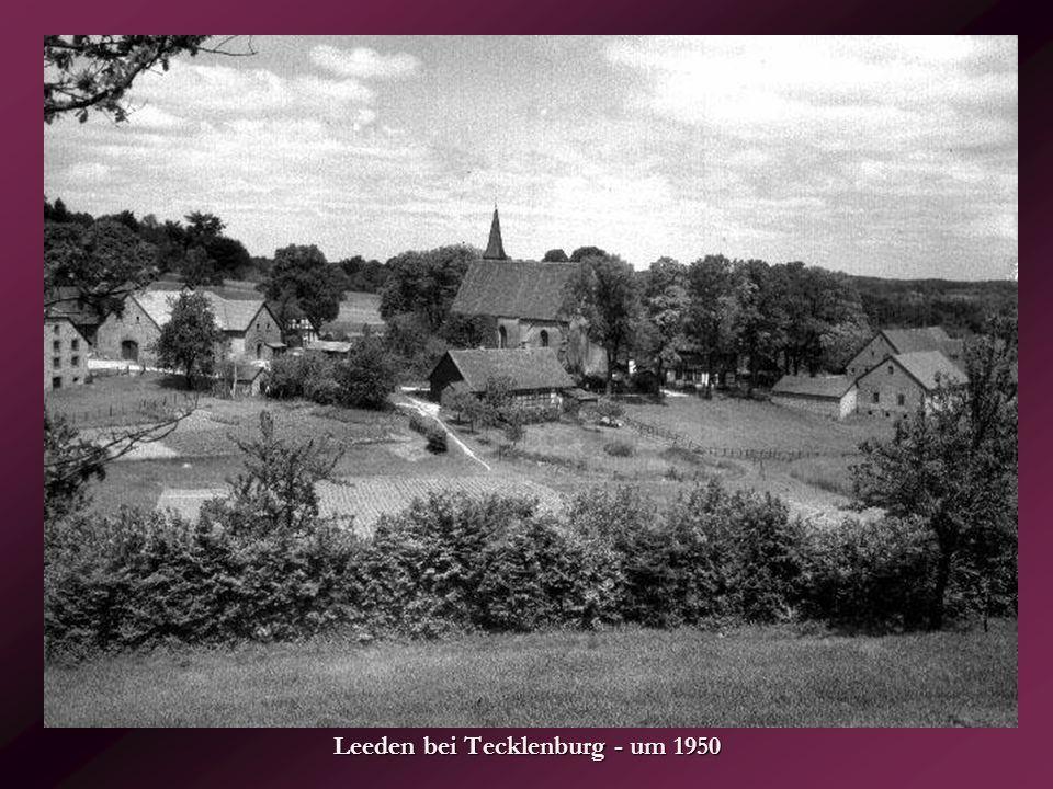 Leeden bei Tecklenburg - um 1950