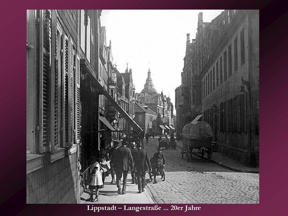 Lippstadt – Langestraße ... 20er Jahre