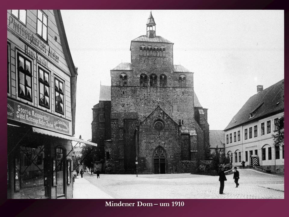 Mindener Dom – um 1910