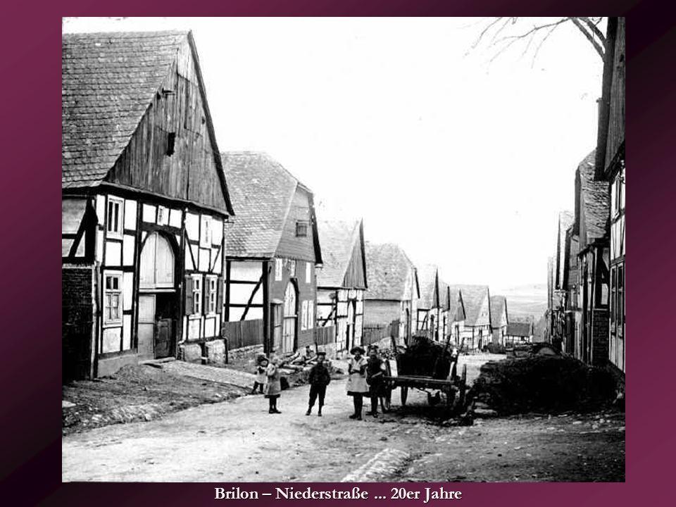 Brilon – Niederstraße ... 20er Jahre
