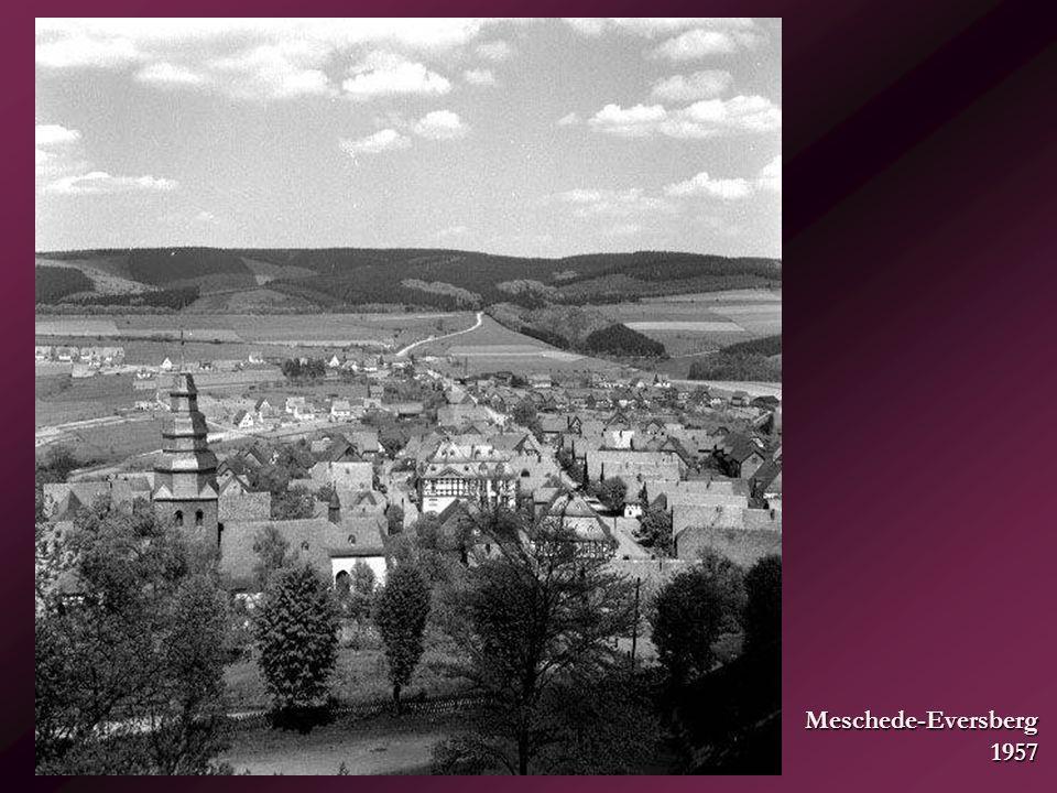 Meschede-Eversberg 1957