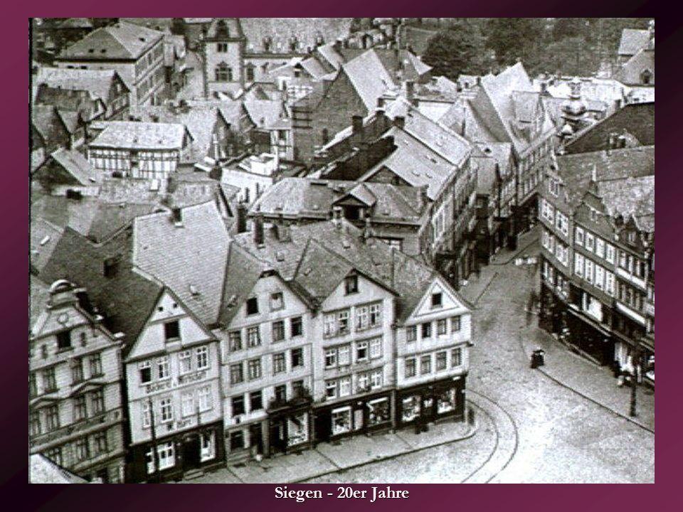 Siegen - 20er Jahre
