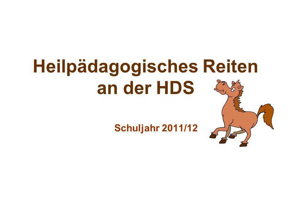 Heilpädagogisches Reiten an der HDS