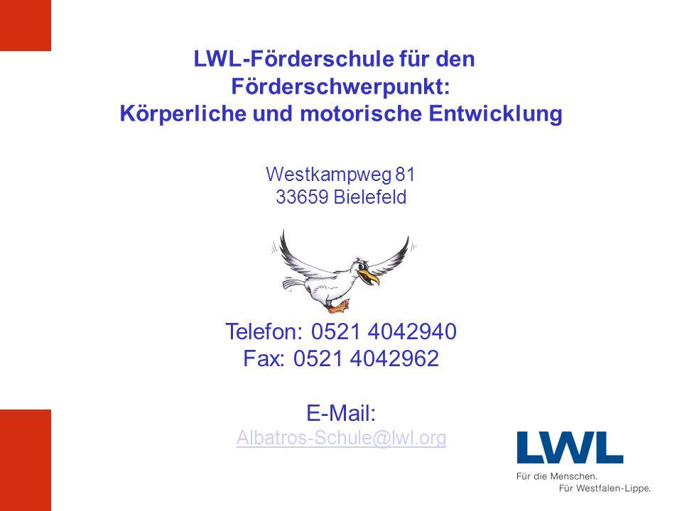 LWL-Förderschule für den Förderschwerpunkt: Körperliche und motorische Entwicklung