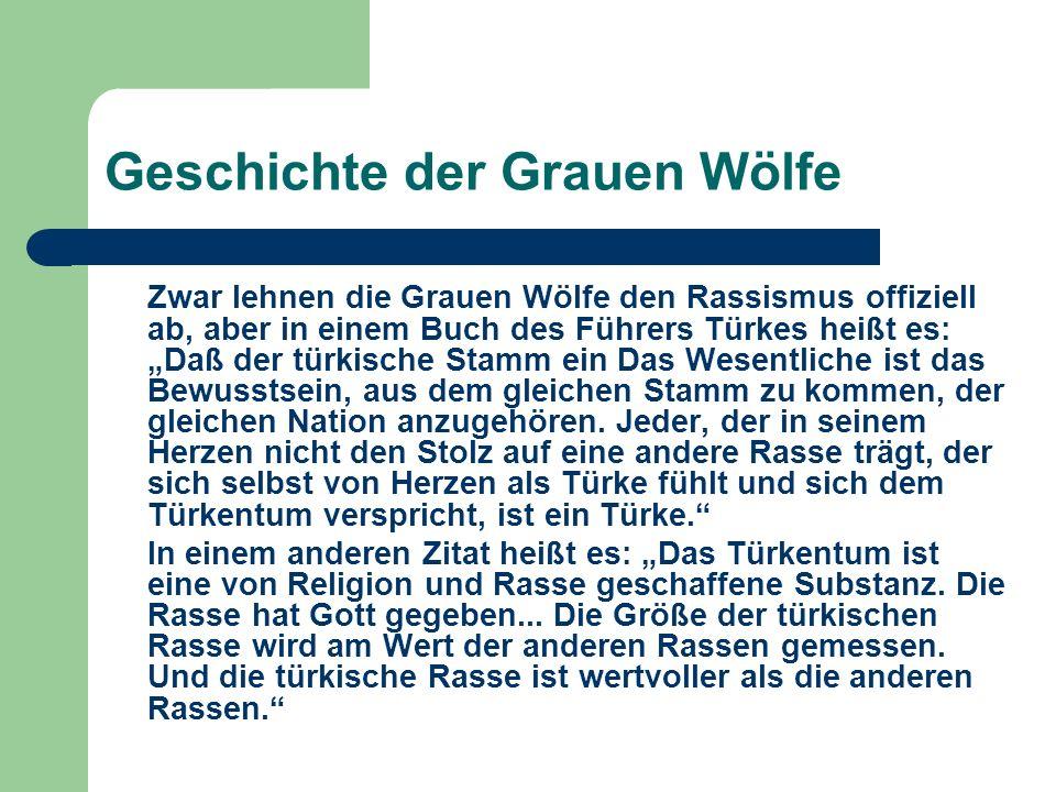 Geschichte der Grauen Wölfe