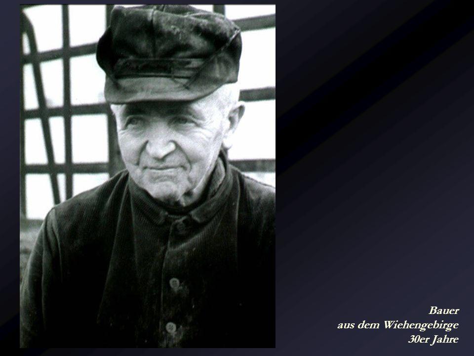 Bauer aus dem Wiehengebirge 30er Jahre