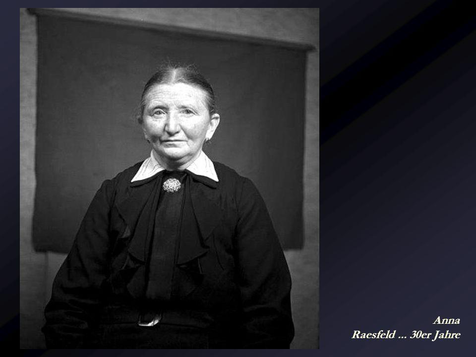 Anna Raesfeld ... 30er Jahre