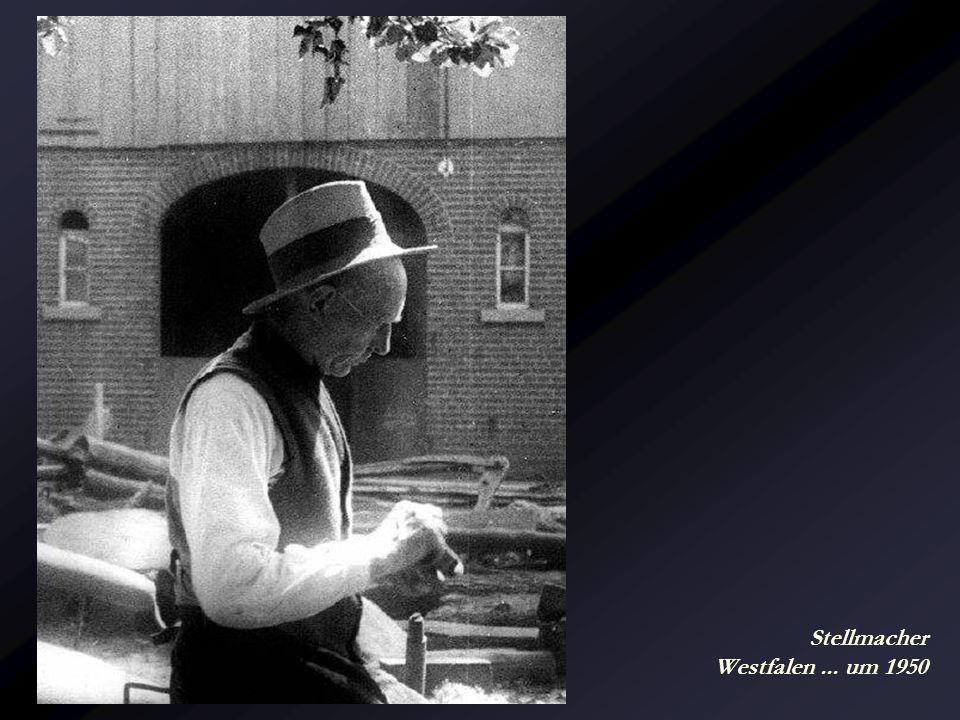 Stellmacher Westfalen ... um 1950