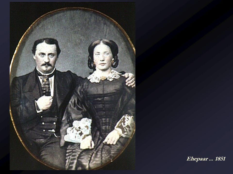 Ehepaar ... 1851