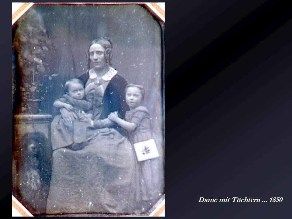 Dame mit Töchtern ... 1850