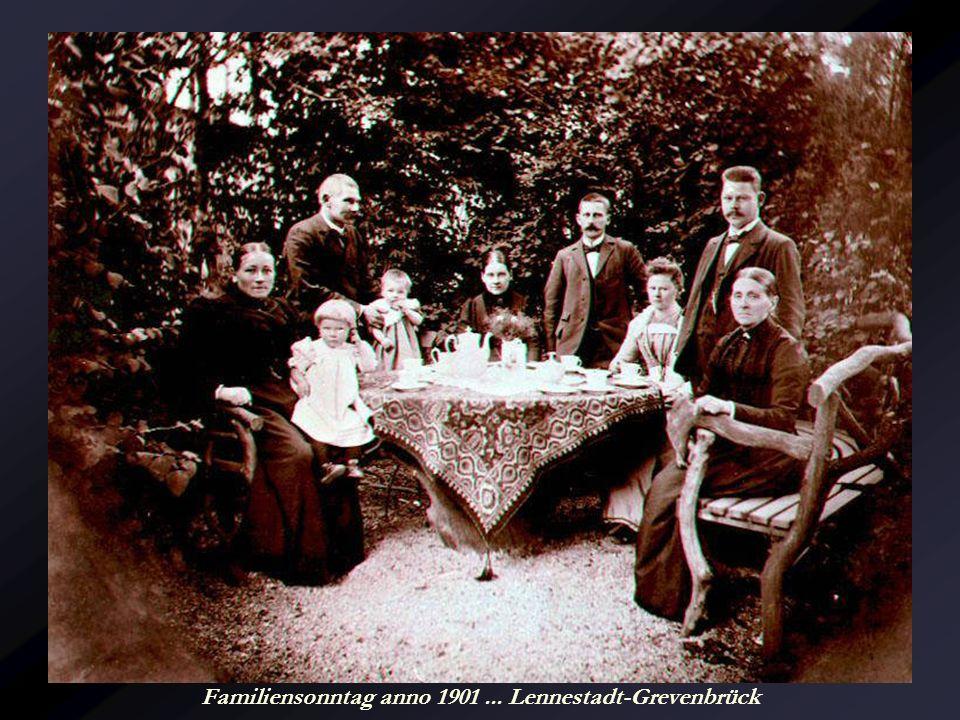 Familiensonntag anno 1901 ... Lennestadt-Grevenbrück
