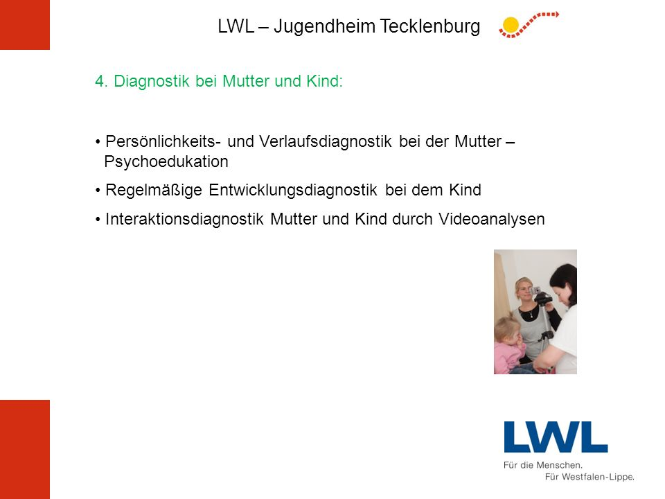 4. Diagnostik bei Mutter und Kind:
