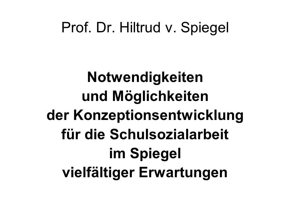 Prof. Dr. Hiltrud v. Spiegel