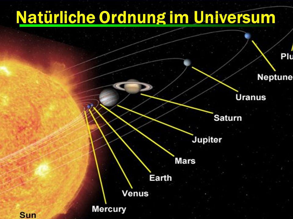 Natürliche Ordnung im Universum