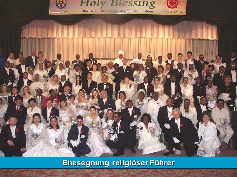 Ehesegnung religiöser Führer
