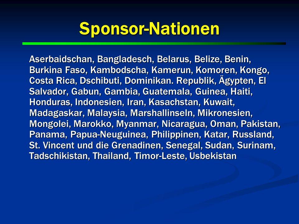 Sponsor-Nationen