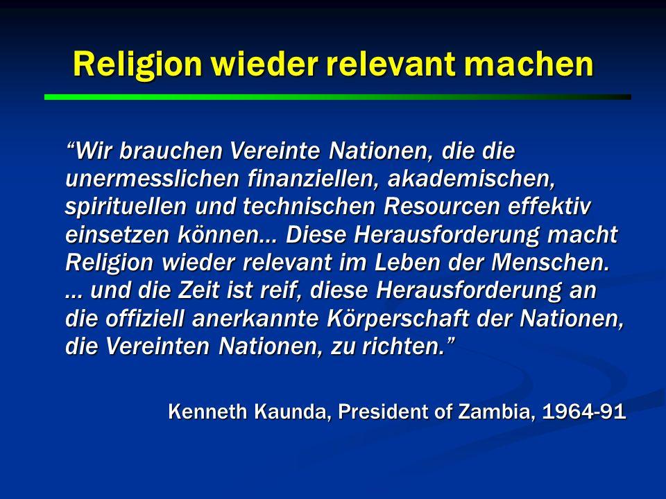 Religion wieder relevant machen