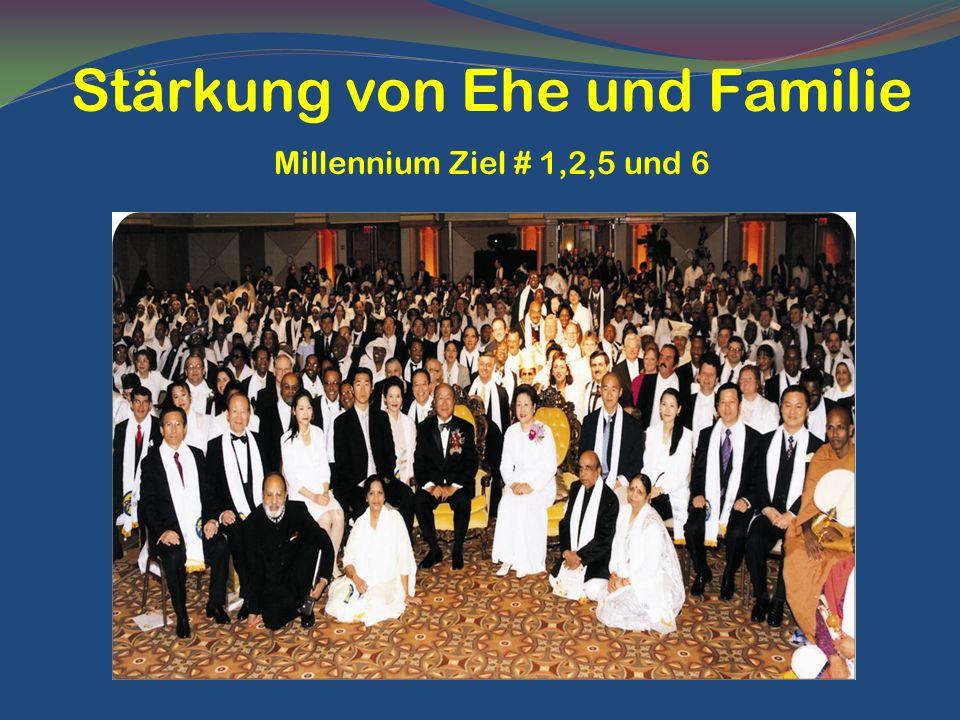 Stärkung von Ehe und Familie