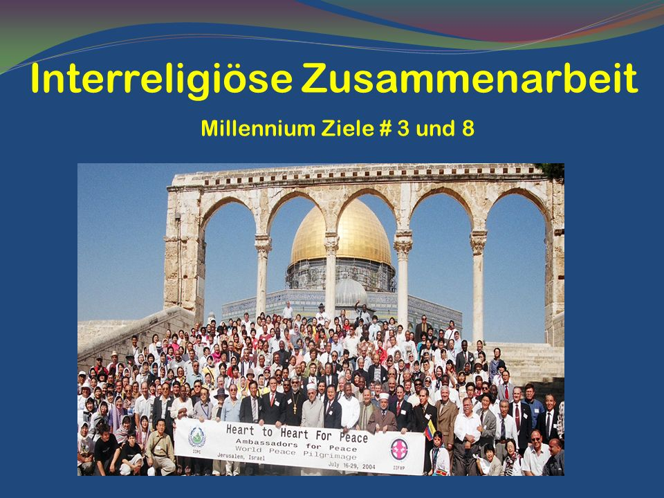 Interreligiöse Zusammenarbeit