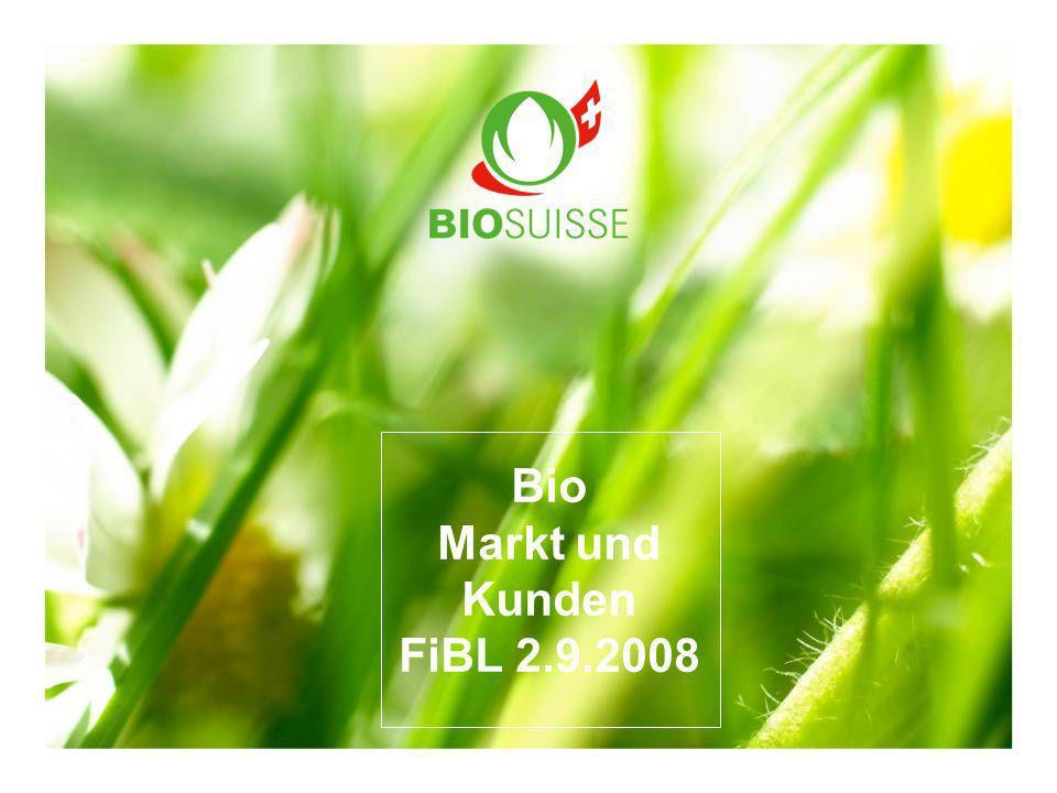 Bio Markt und Kunden FiBL 2.9.2008