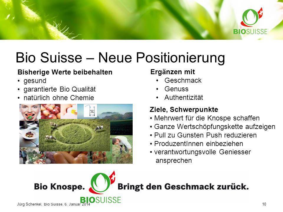 Bio Suisse – Neue Positionierung