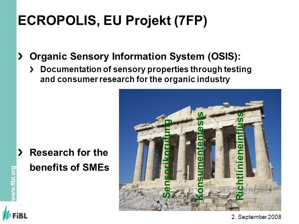 ECROPOLIS, EU Projekt (7FP)