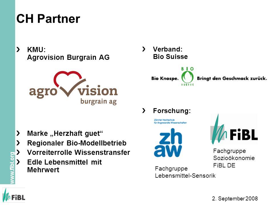 """CH Partner KMU: Agrovision Burgrain AG Marke """"Herzhaft guet"""