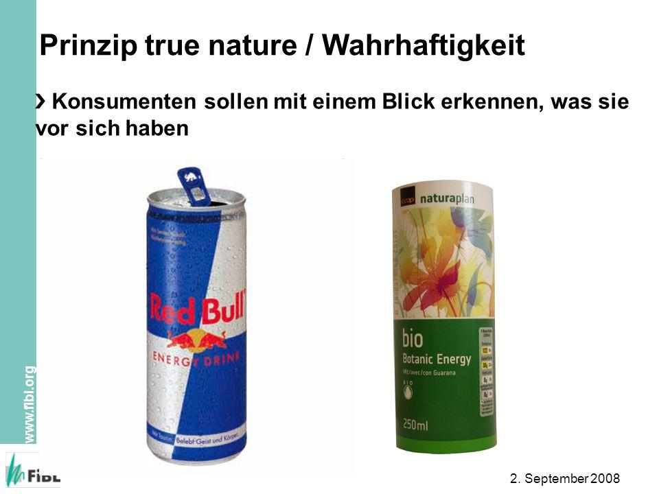 Prinzip true nature / Wahrhaftigkeit