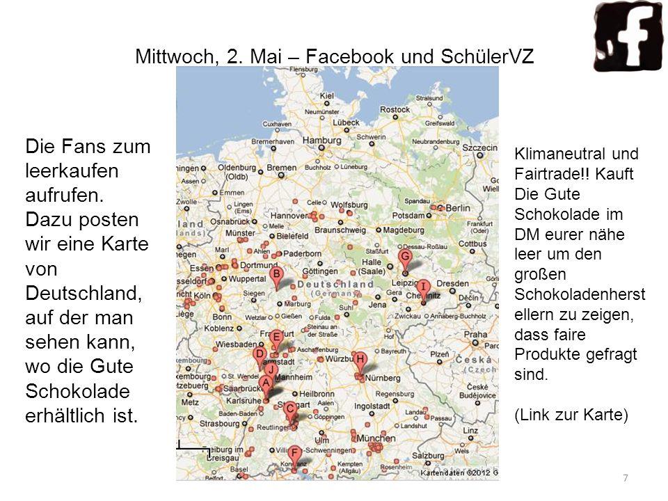Mittwoch, 2. Mai – Facebook und SchülerVZ