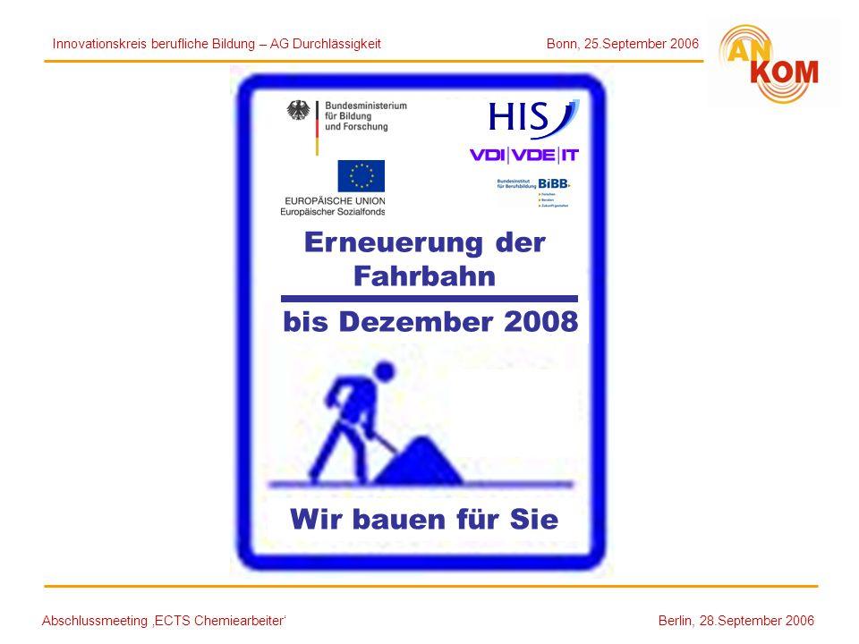 Erneuerung der Fahrbahn bis Dezember 2008 Wir bauen für Sie