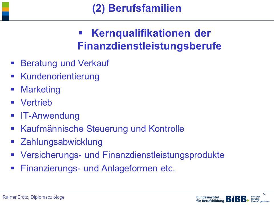 Kernqualifikationen der Finanzdienstleistungsberufe