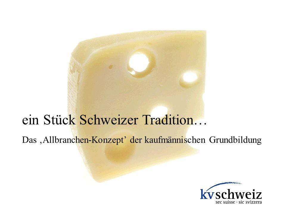 ein Stück Schweizer Tradition…