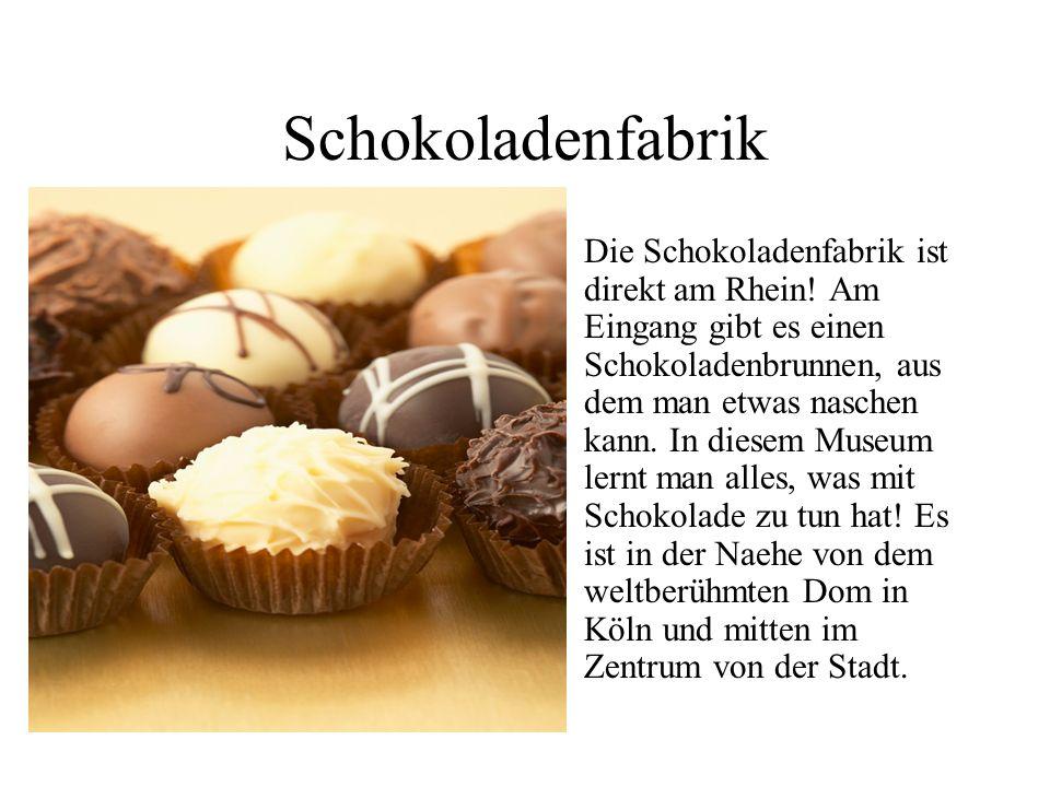 Schokoladenfabrik