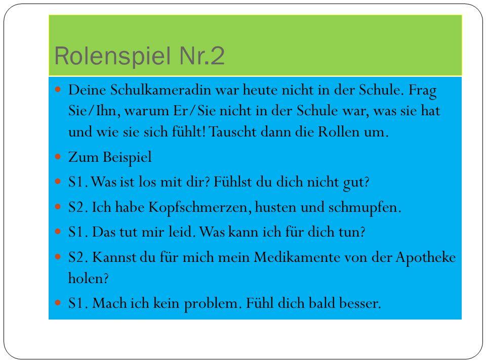 Rolenspiel Nr.2