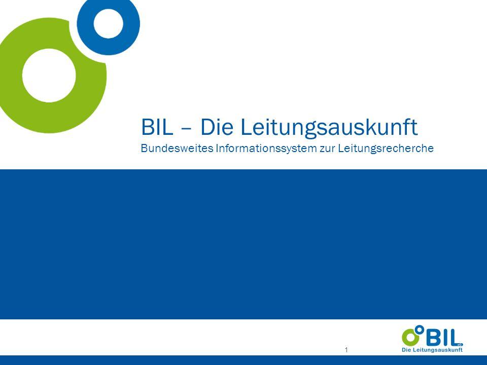 BIL – Die Leitungsauskunft Bundesweites Informationssystem zur Leitungsrecherche