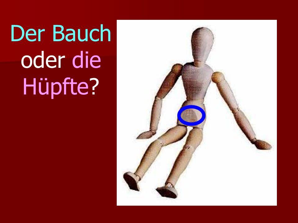 Der Bauch oder die Hüpfte