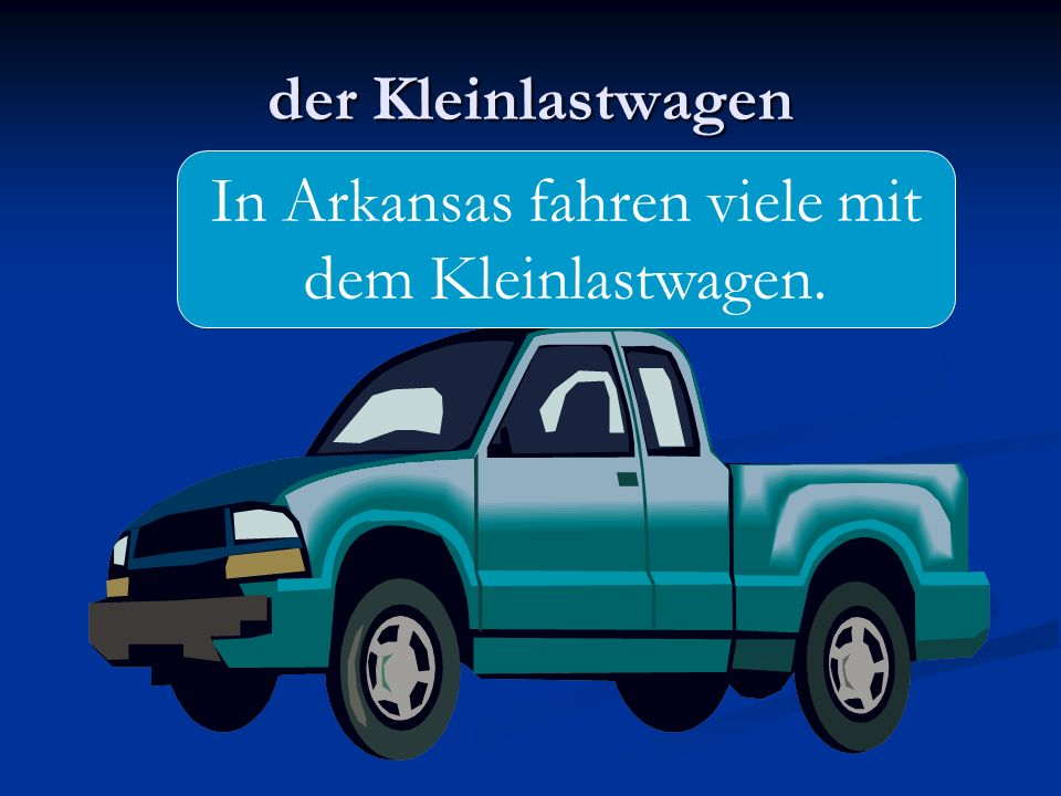 In Arkansas fahren viele mit