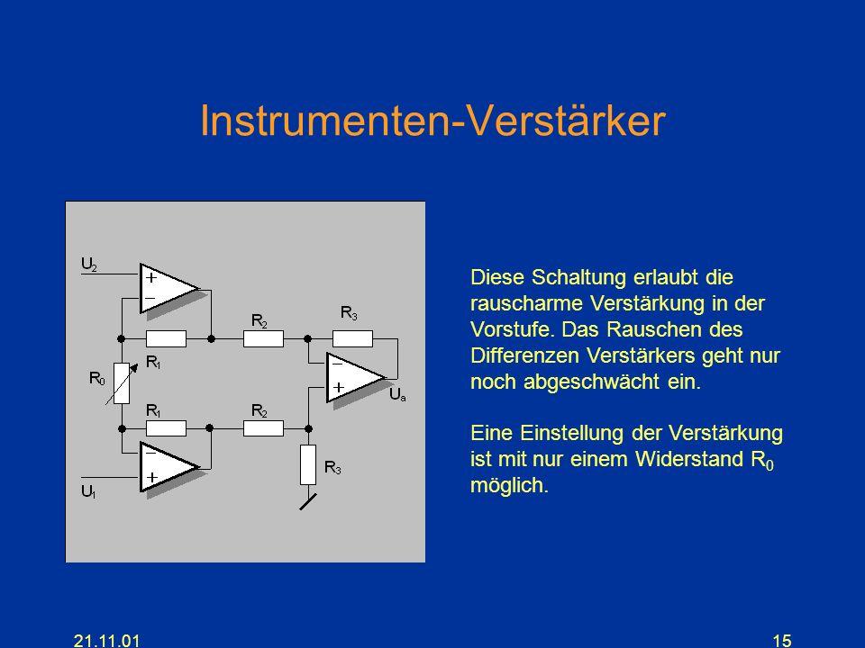 Instrumenten-Verstärker