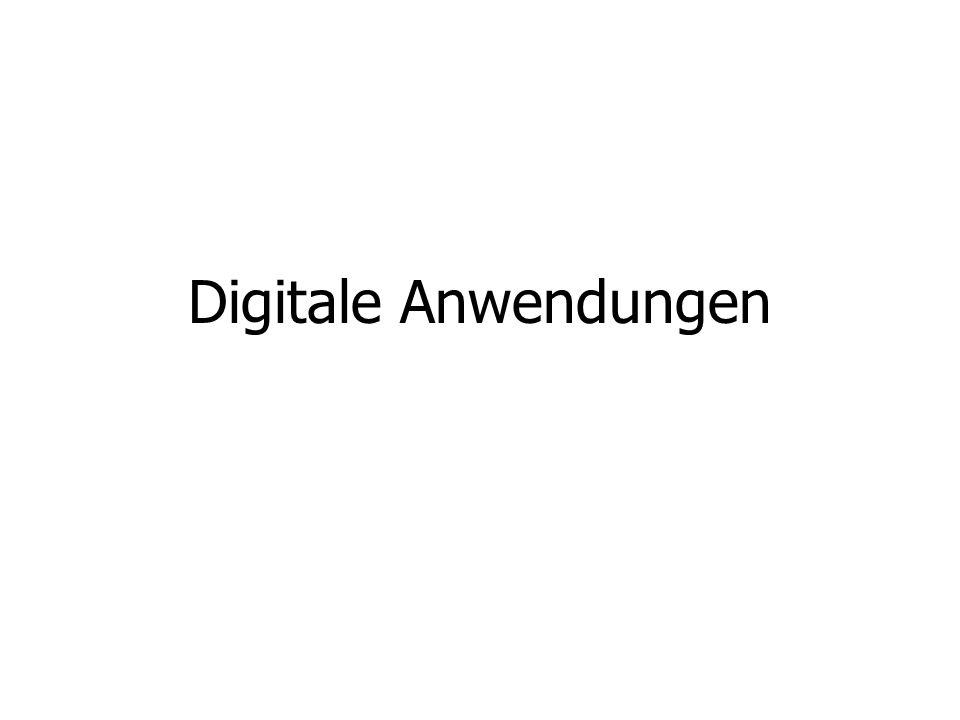 Digitale Anwendungen