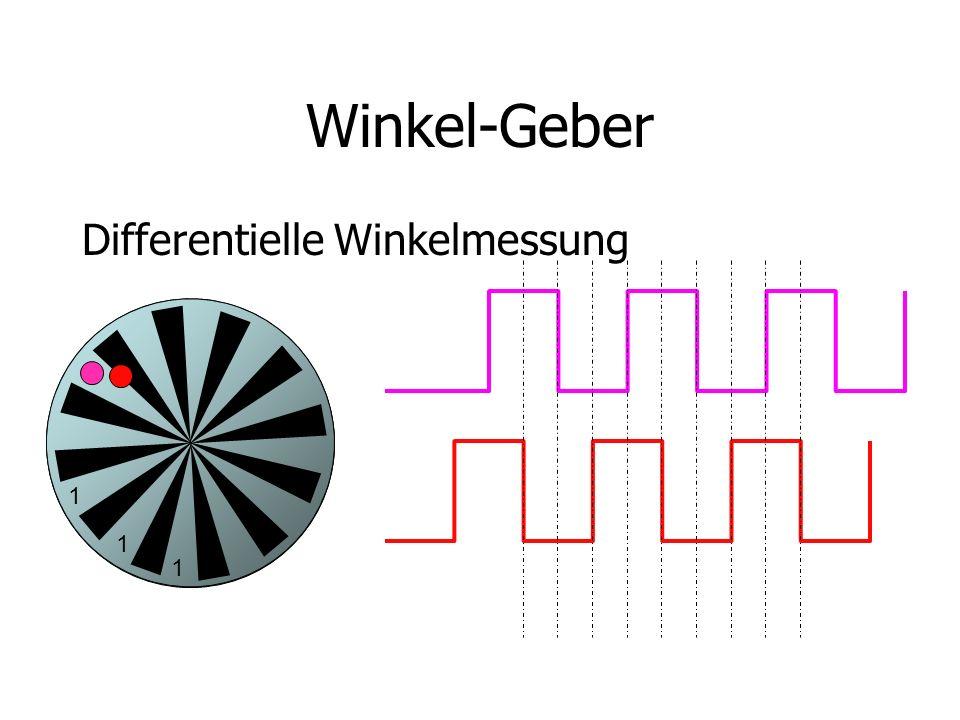 Winkel-Geber Differentielle Winkelmessung 1 1 1