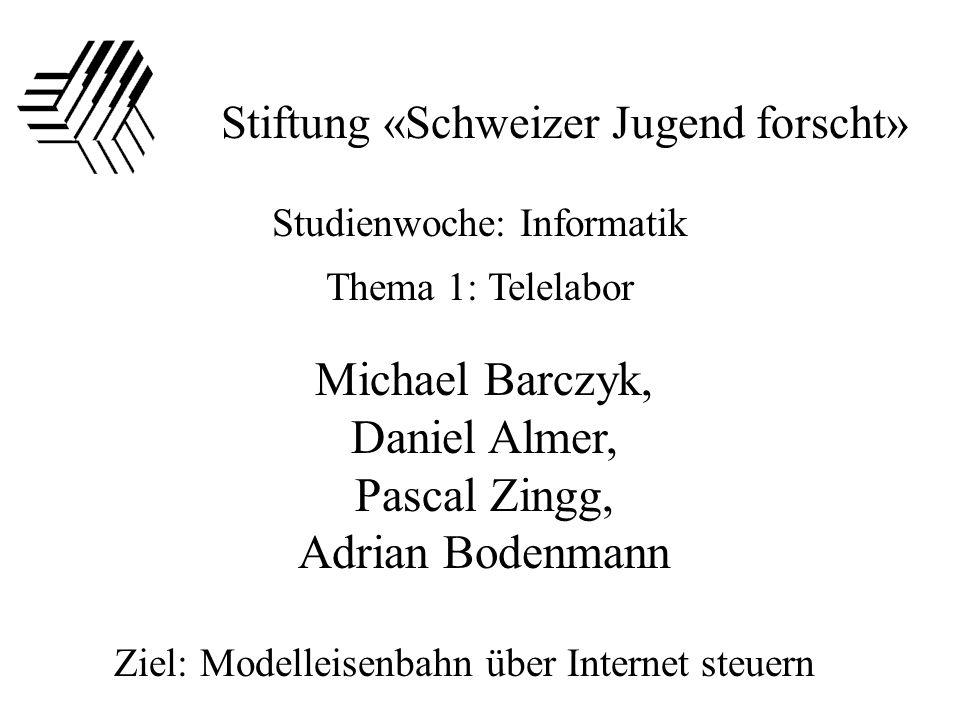 Michael Barczyk, Daniel Almer, Pascal Zingg, Adrian Bodenmann