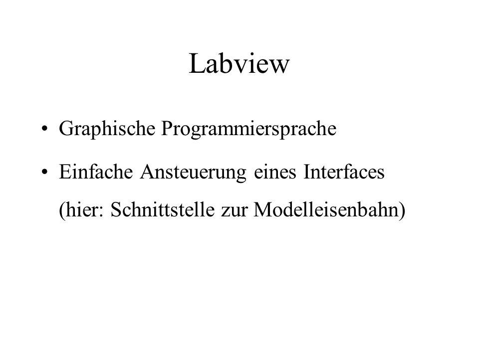 Labview Graphische Programmiersprache
